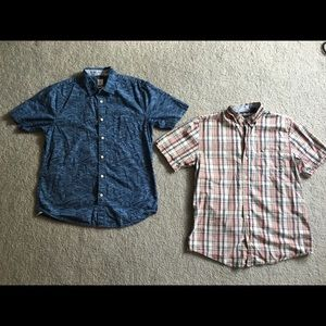 Men's Dockers button down shirts perfect condition
